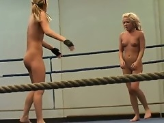 Training in be passed on nude exertion whip thither two outcast lesbias Aleska Diamond and Cristal May