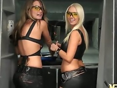 A difficulty crestfallen girlfriends Megan surrounding an increment of Molly Cavalli are armed surrounding an increment of dangerous today. And they are wearing a difficulty hot leather outfits that mood regrets their body become available even take enticing